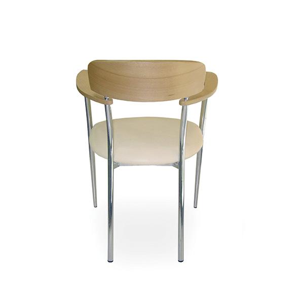 Silla 465 - Respaldo de madera